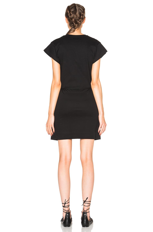 Lyst isabel marant senga chic tee shirt dress in black for Isabel marant shirt dress