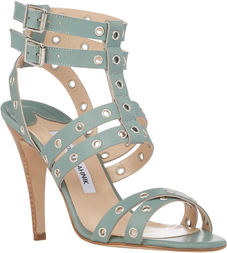 982698ca927e manolo blahnik gladiator sandals