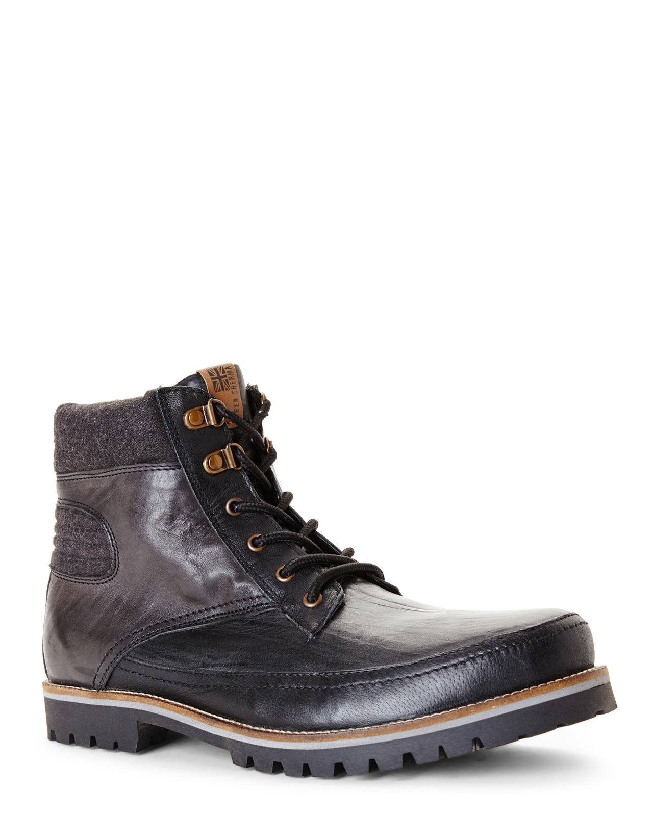 Ben Sherman Boou Shoes Black