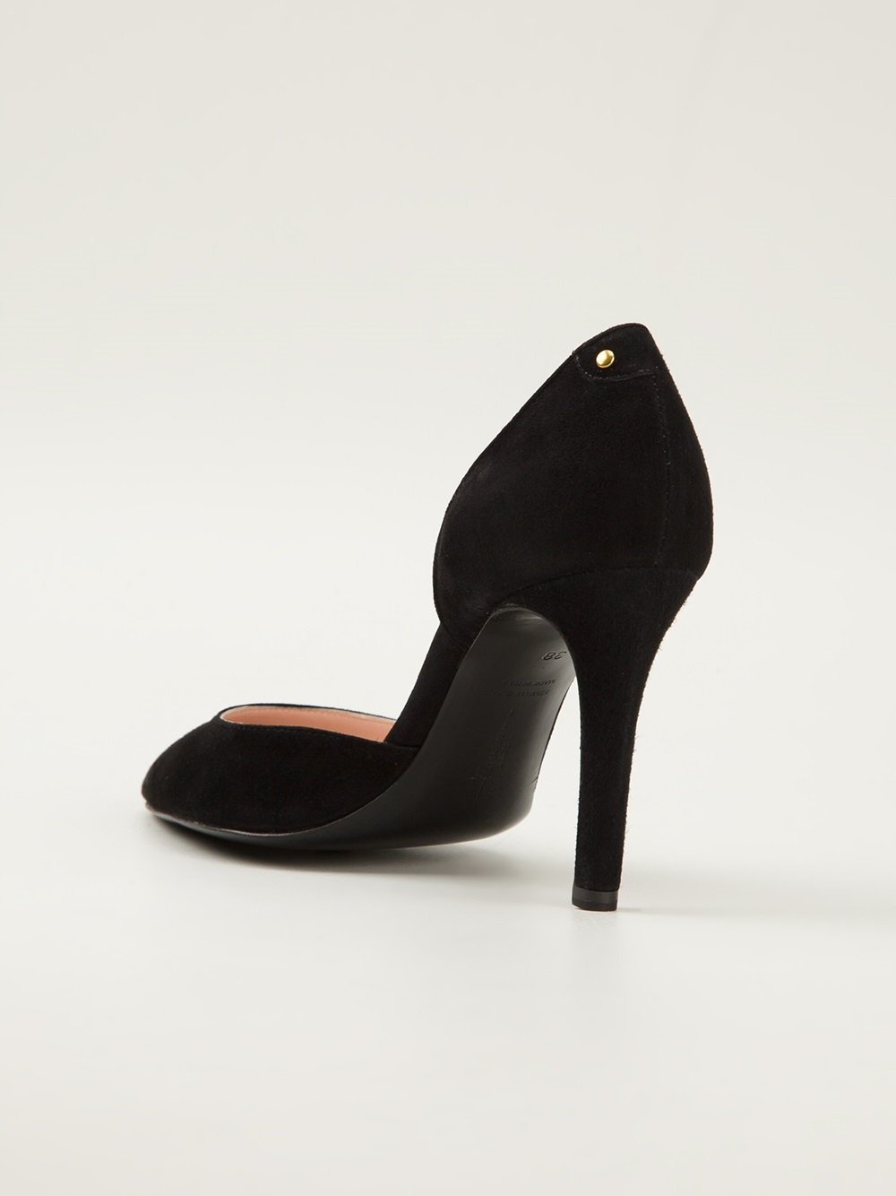 Versace Safety Pin Patent Pumps for Women | US Online Store