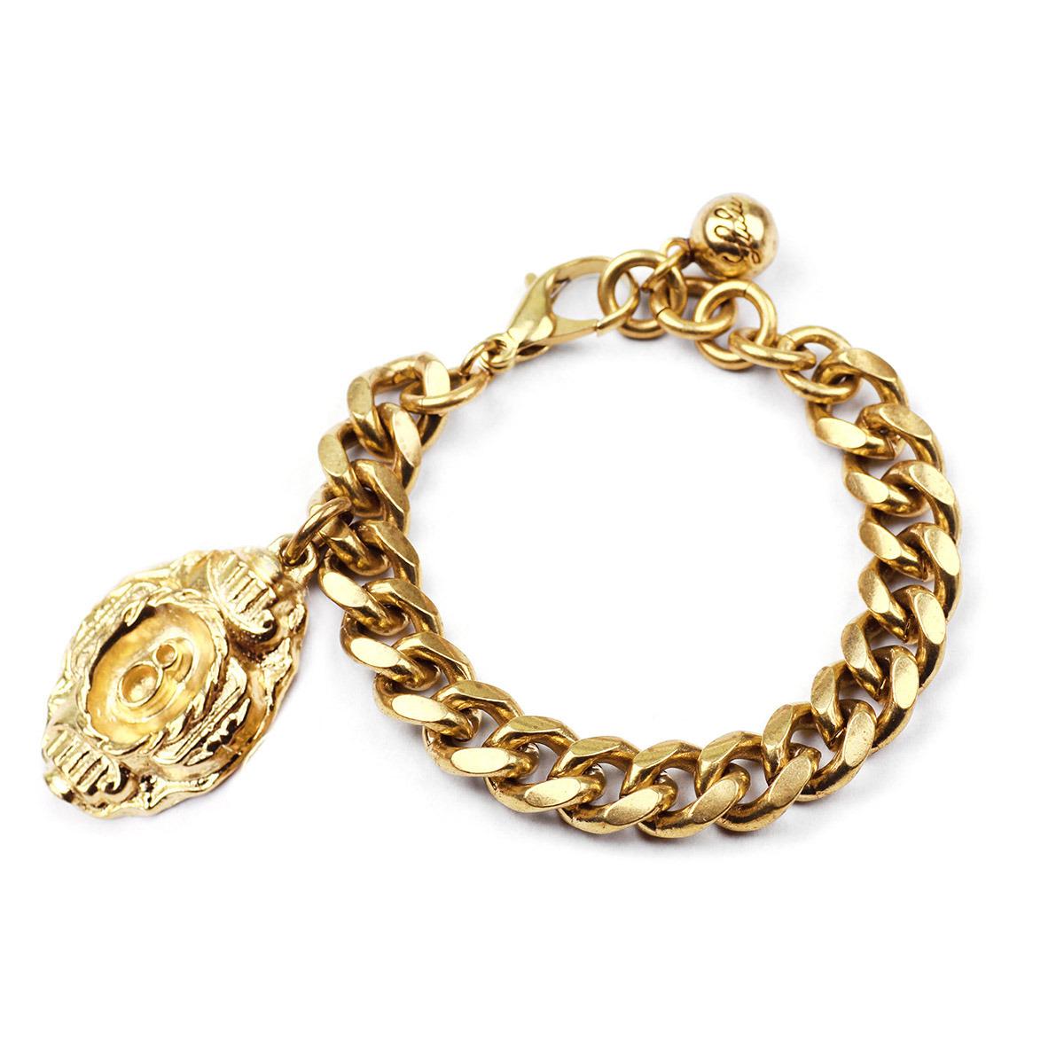 lulu plaza charm number bracelet 8 in