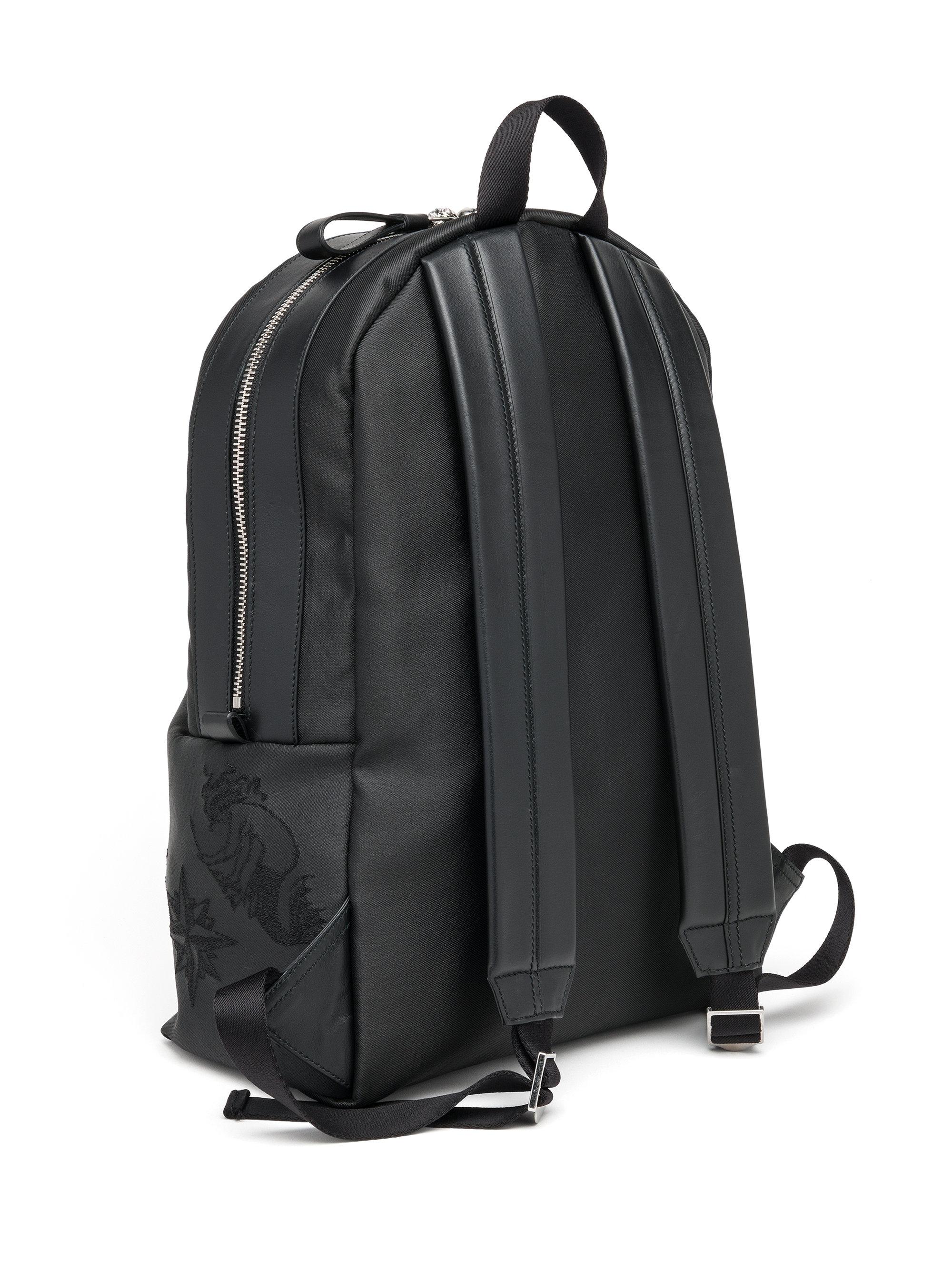 56fd5ff0dcb0c2 Alexander McQueen Skull Tattoo Jacquard Backpack in Black for Men - Lyst
