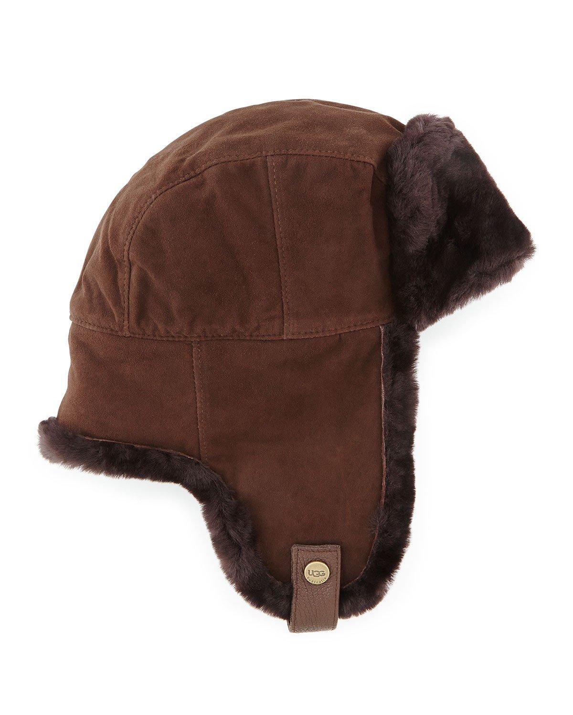 d406c9cc1ddbb Ugg Australia Trapper Mens Sheepskin Hat