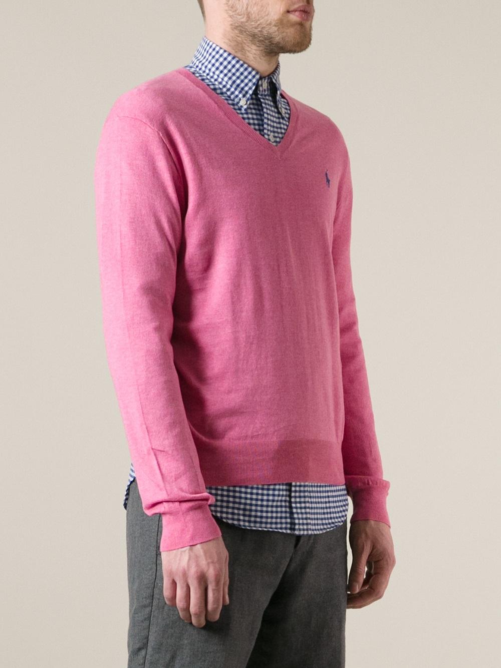 17dcdd20507 Men For Sweater Polo Ralph Lauren Classic Purple Lyst In B6qOA0
