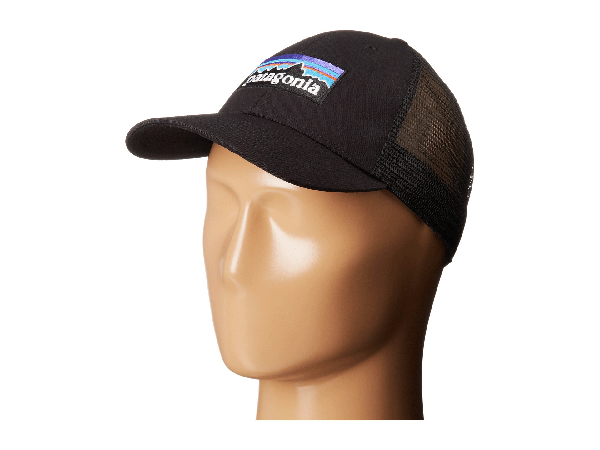 661375c4d34 Lyst - Patagonia P6 Lopro Trucker Hat in Black