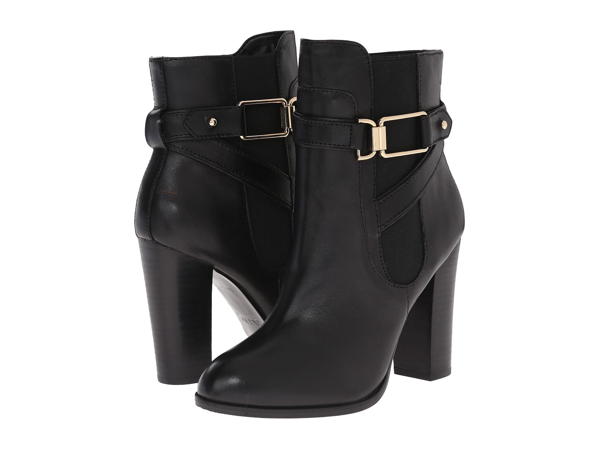 Womens Boots ALDO Bergson Black Leather