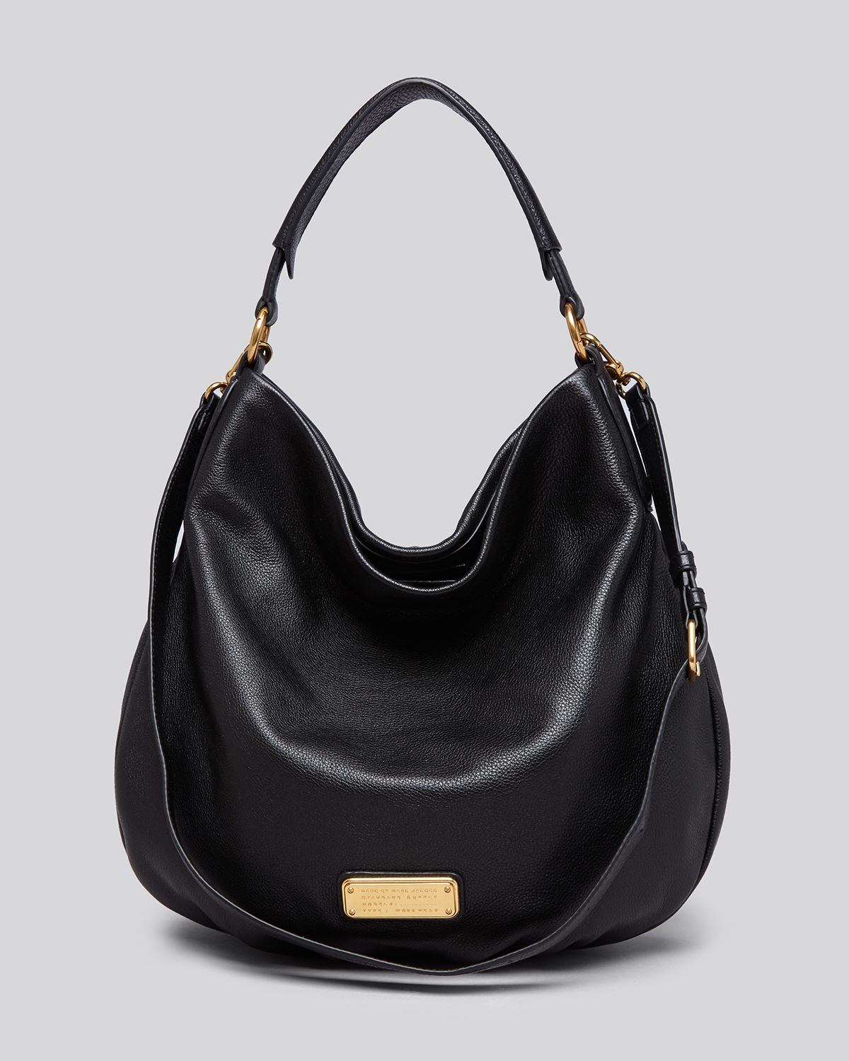 Marc Jacobs Hobo Laukku : Marc by jacobs washed up billy hobo bag in black lyst