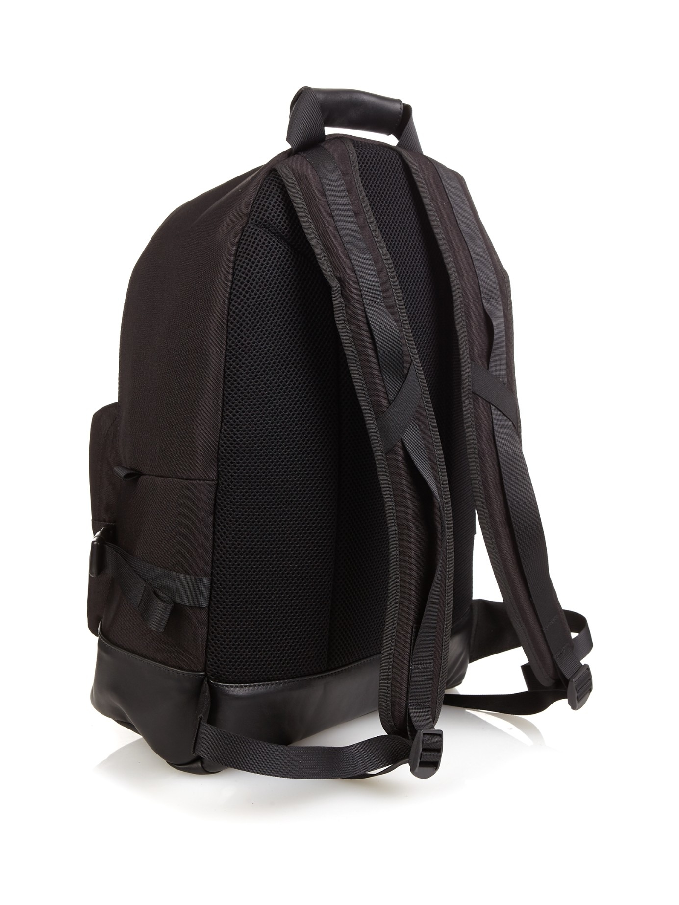 Lyst - AMI Nylon-canvas Backpack in Black for Men b6d1939c12c96