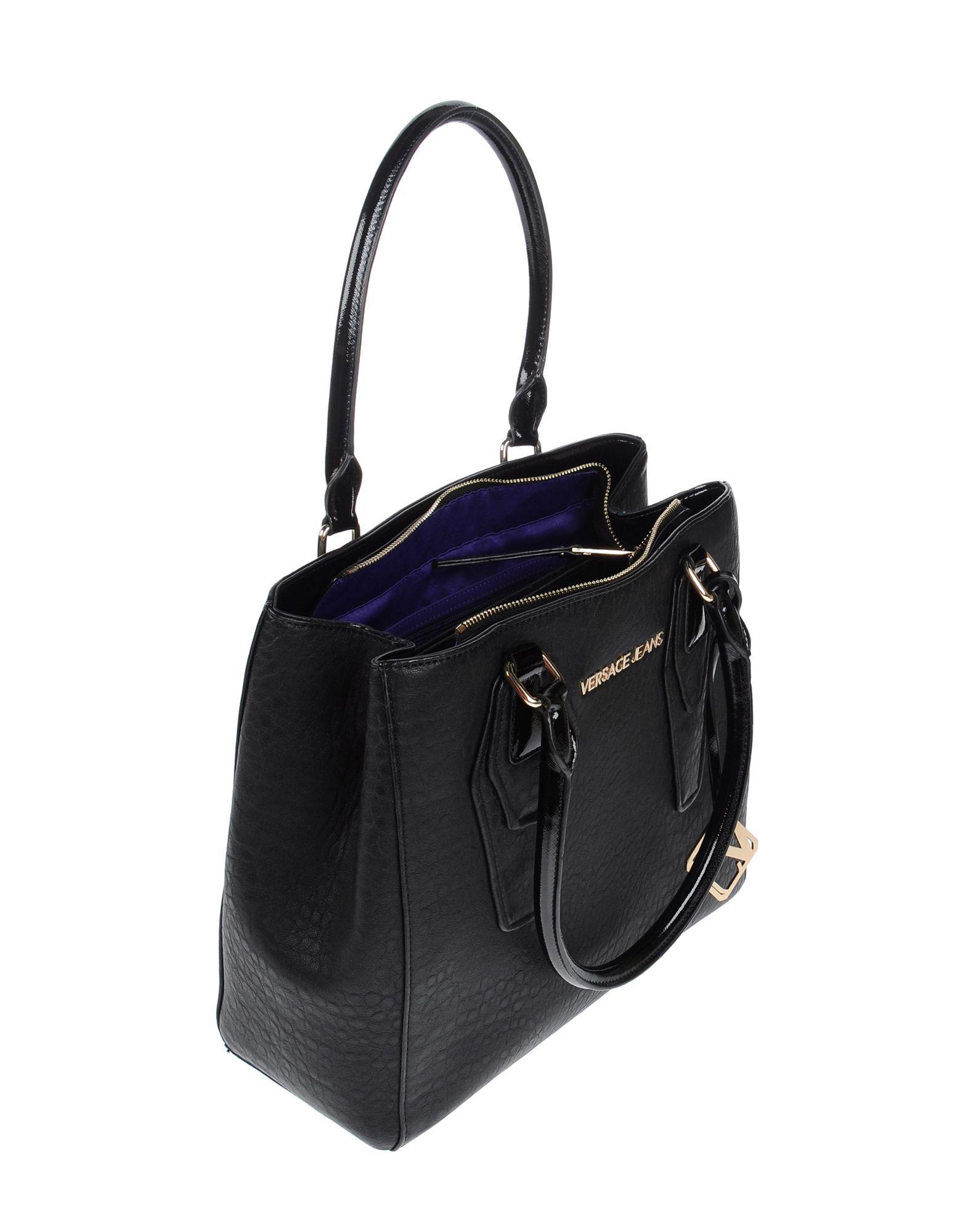 cccefb4eb9 Lyst - Versace Jeans Handbag in Black