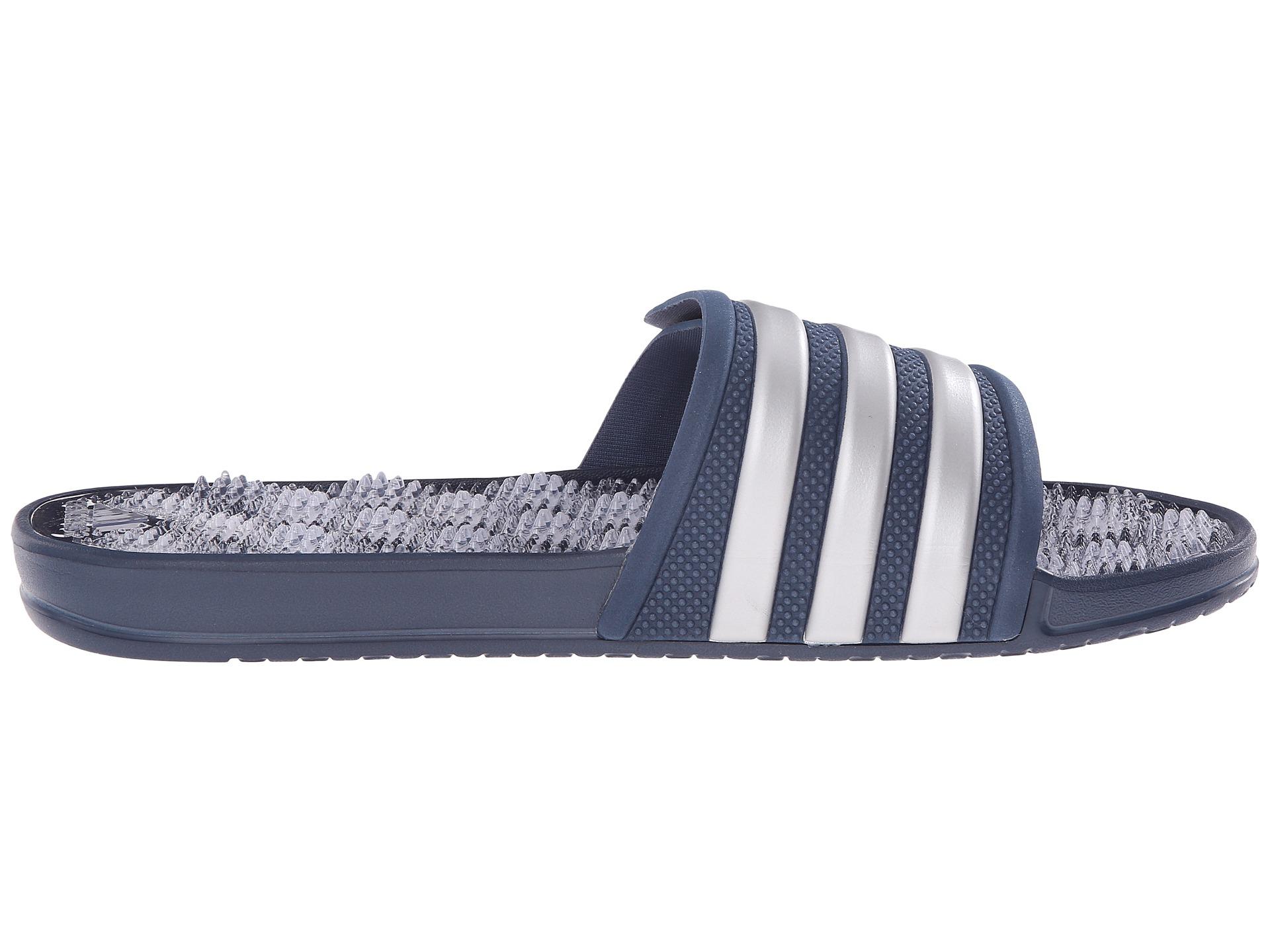 92cc9c0e7e3288 Lyst - adidas Originals Adissage 2.0 M Stripe in Blue for Men