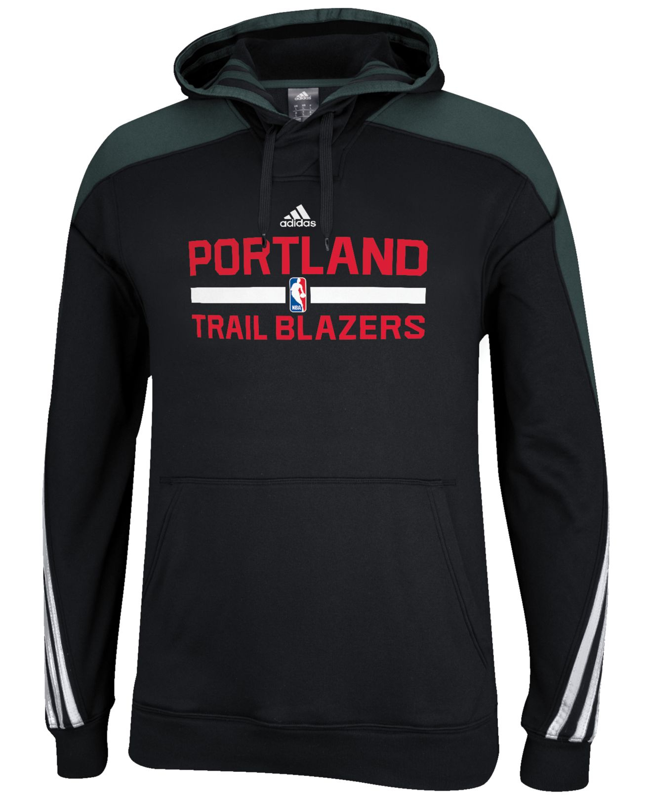 Adidas Men's Portland Trail Blazers Practice Hoodie