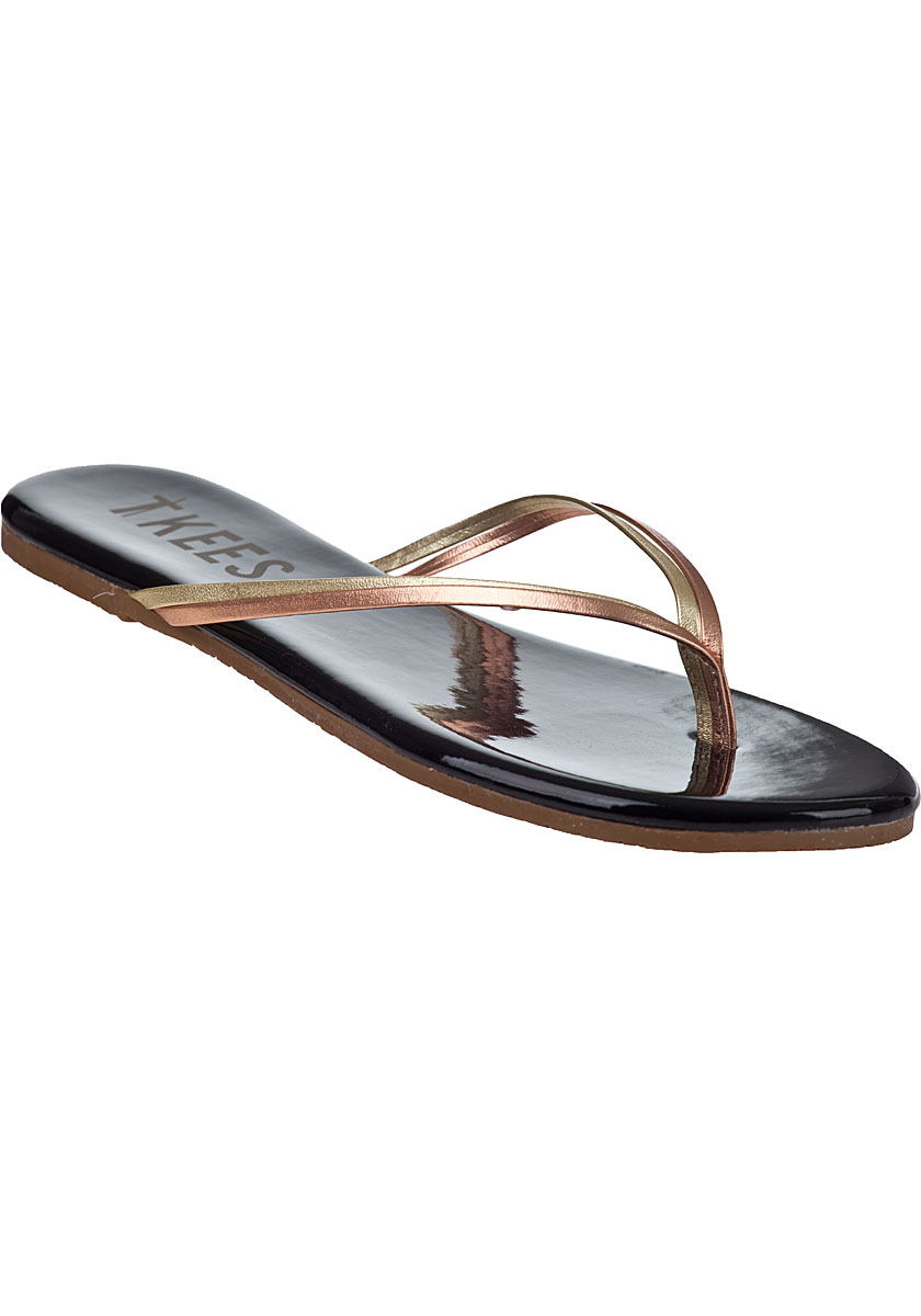 Tkees Duos Flip Flops Afterglow Leather In Multicolor  Lyst-5632