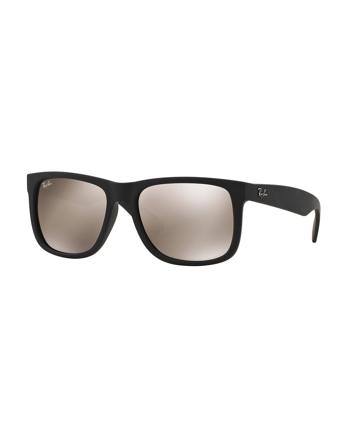 Lyst ray ban flat top sunglasses with mirror lenses in brown for Mirror sunglasses