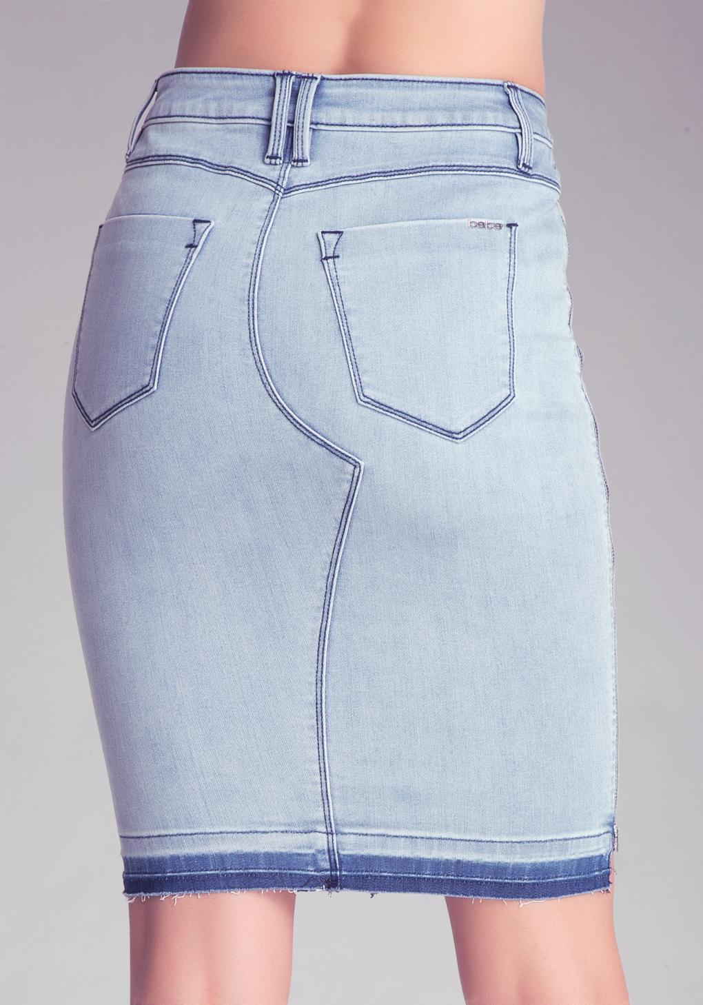 Hudson Jeans Side Zip Denim Skirt Nordstrom