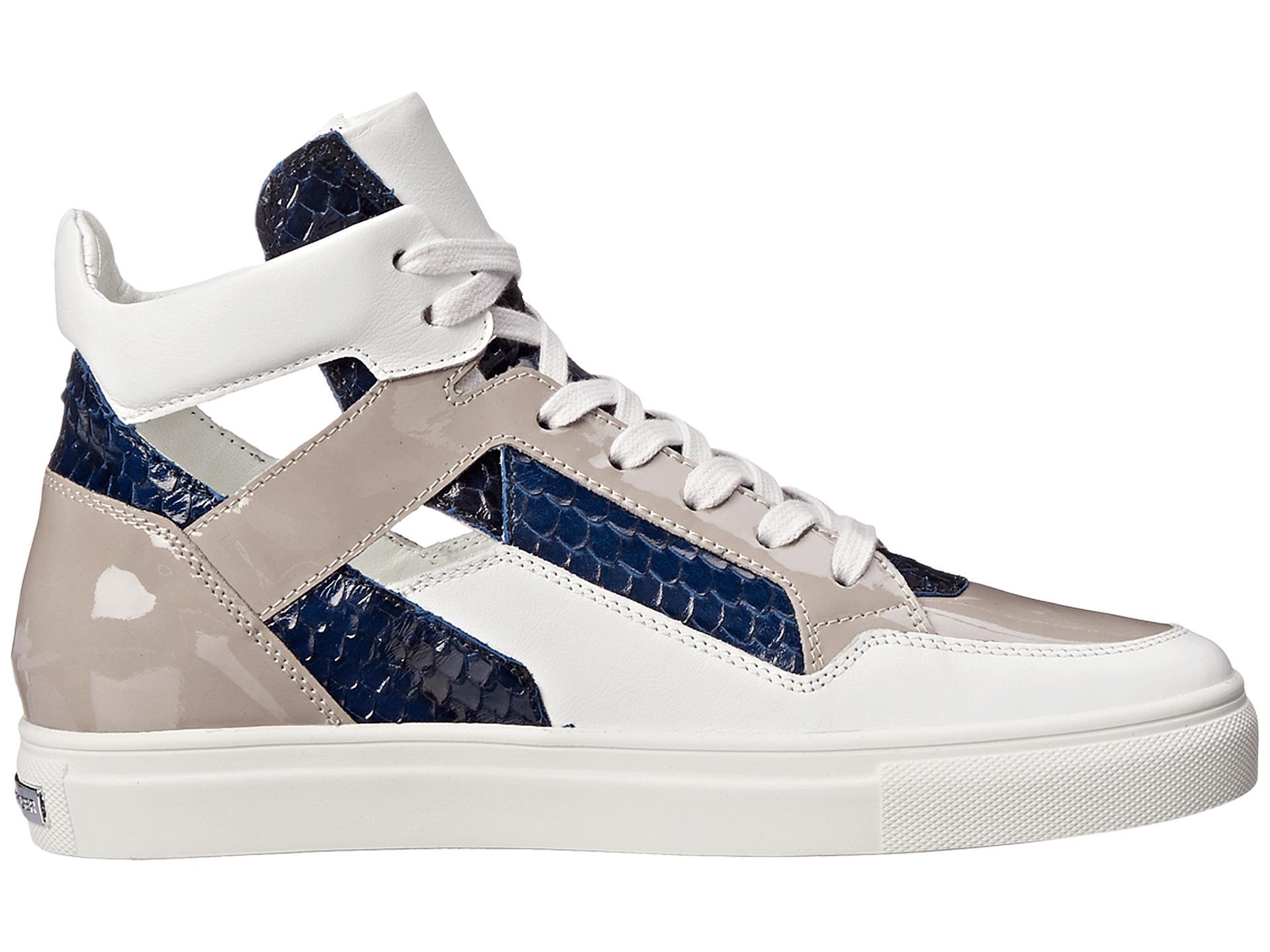 kennel schmenger basket high top sneaker in white lyst. Black Bedroom Furniture Sets. Home Design Ideas