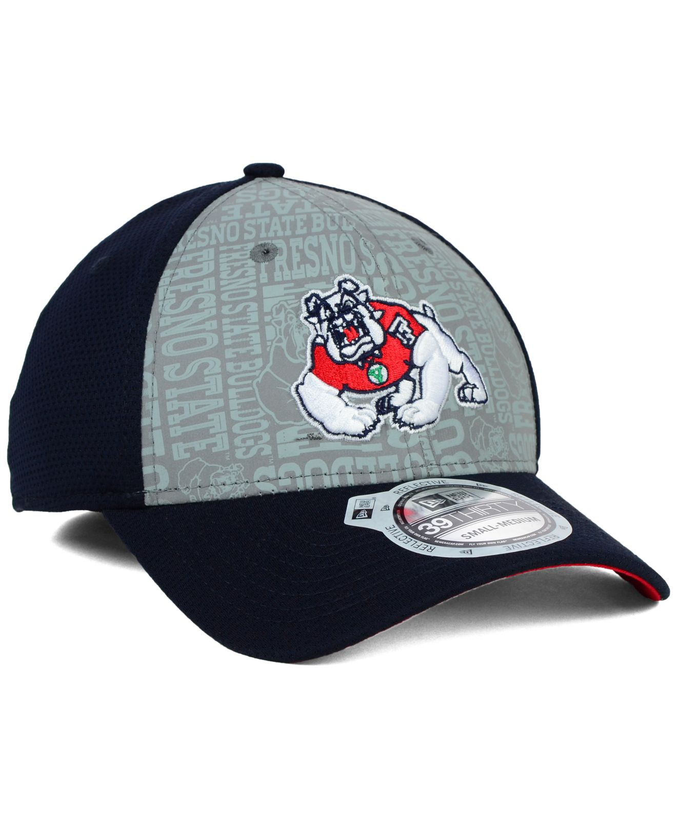 1895db65149 Lyst - KTZ Fresno State Bulldogs Reflective Training 39Thirty Cap in ...