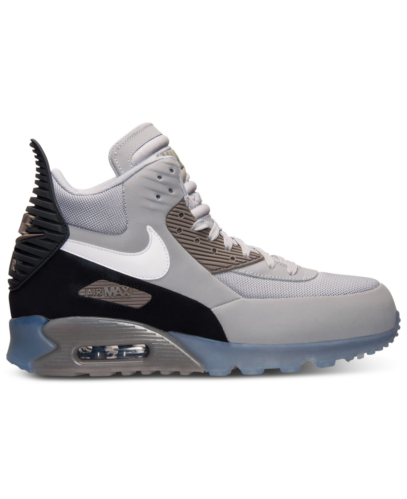 nike men 39 s air max 90 sneakerboot ice from finish line in. Black Bedroom Furniture Sets. Home Design Ideas