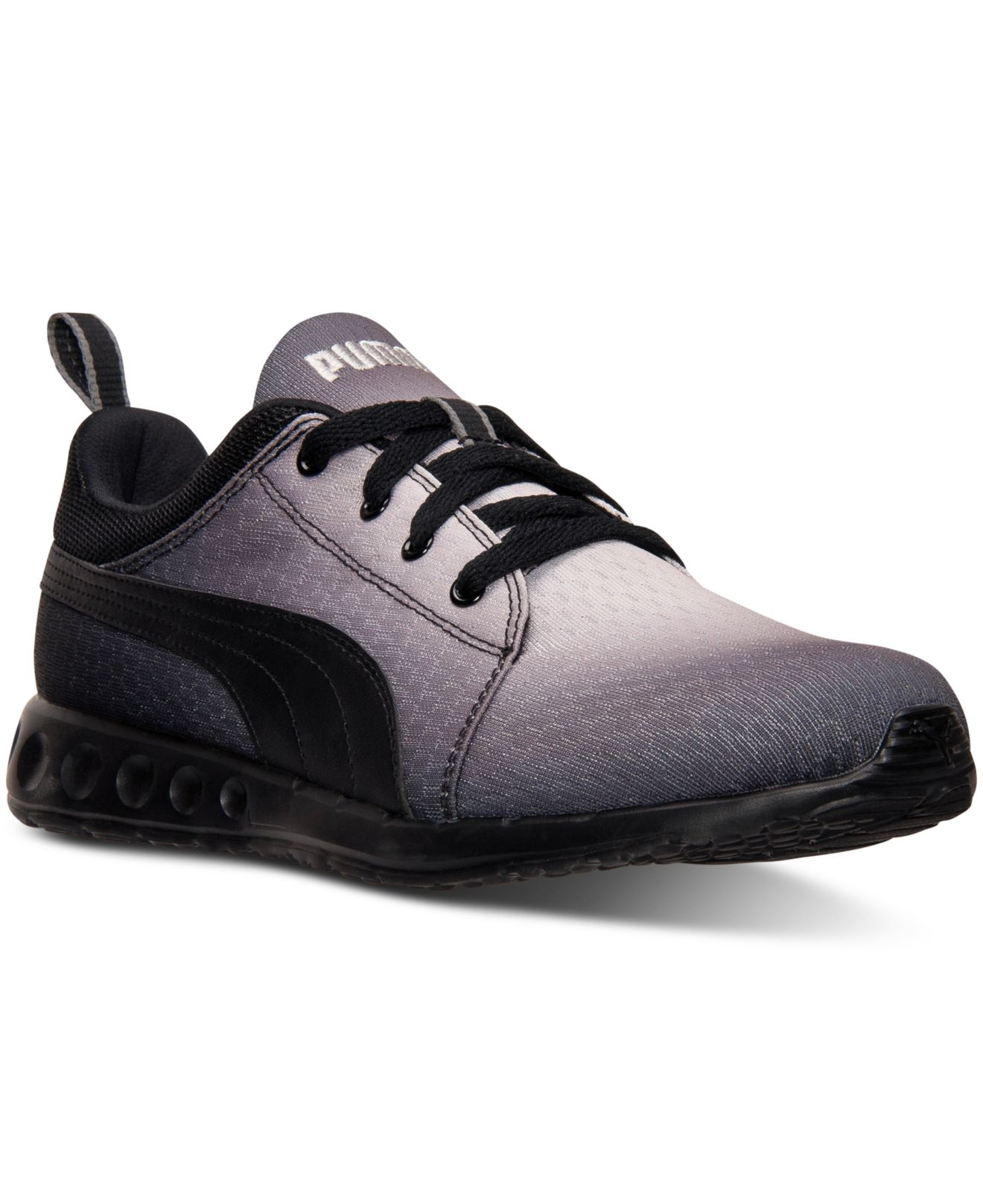 puma men 39 s carson runner radial fade casual sneakers from. Black Bedroom Furniture Sets. Home Design Ideas