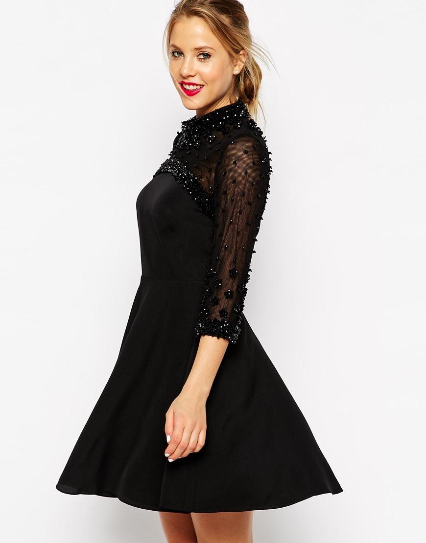 Black dress asos - Gallery Women S Skater Dresses