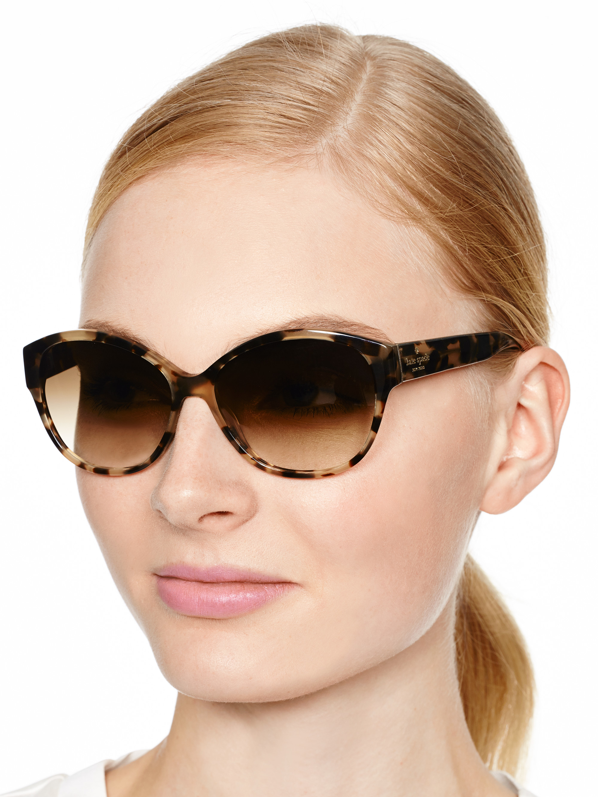 c80c75c6dc2f Kate Spade Melly Sunglasses - Lyst