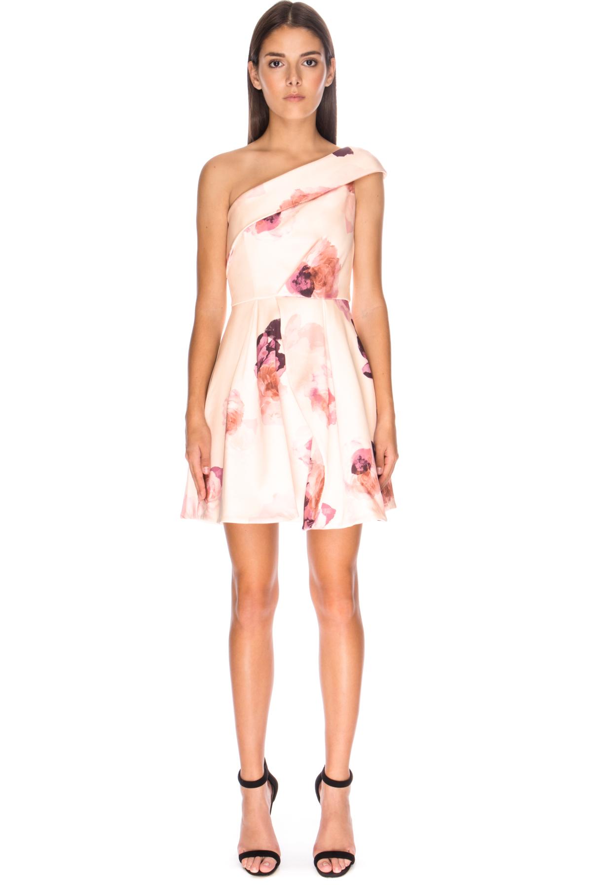 Womens Cold Shoulder Mini Sleeveless Dress Keepsake the Label 3WtY4rs