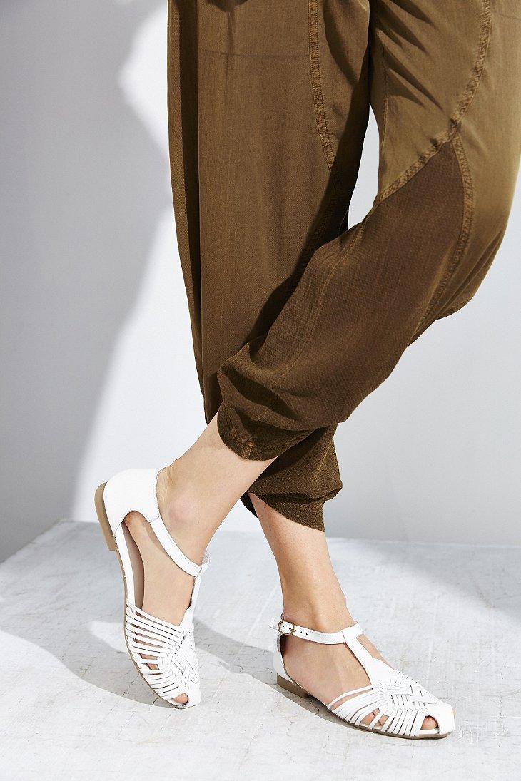 T-strap Huarache Sandal