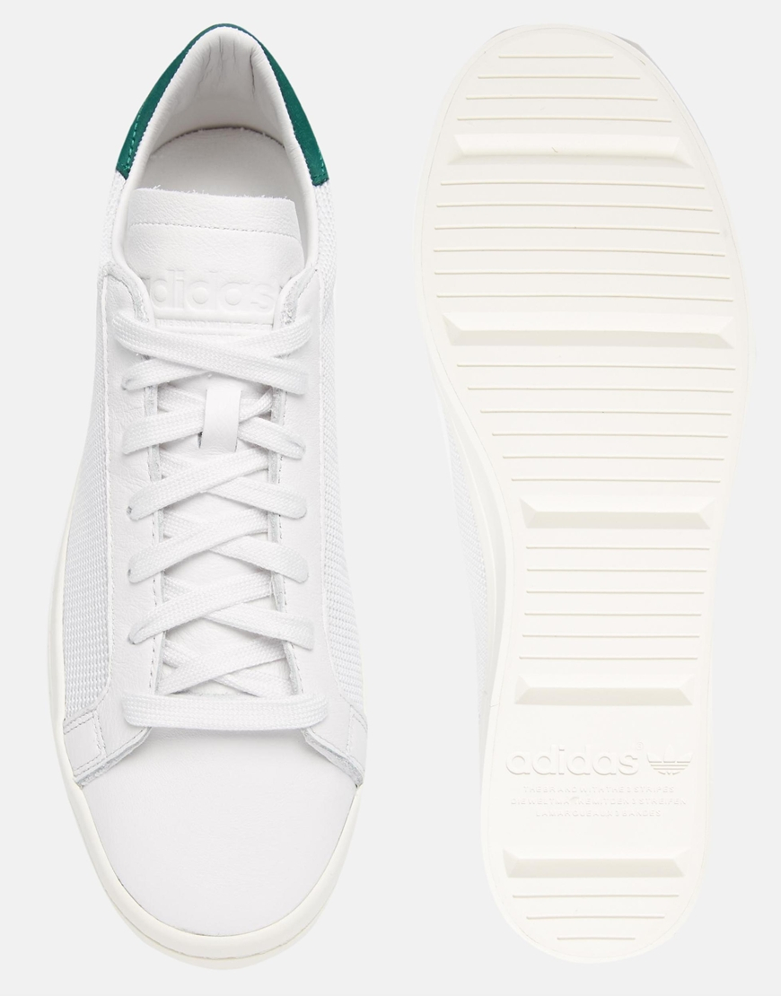 the best attitude 3ddc1 0a01b Lyst - adidas Originals Court Vantage Trainers S78762 in White for Men