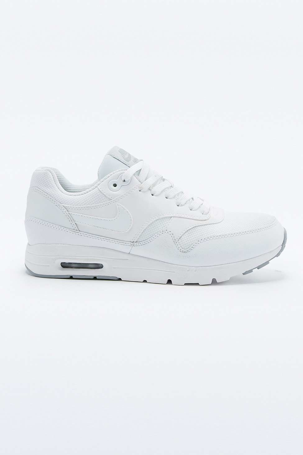quality design b35fd e9ad2 Nike Air Max 1 Ultra Essentials White Trainers in White - Ly