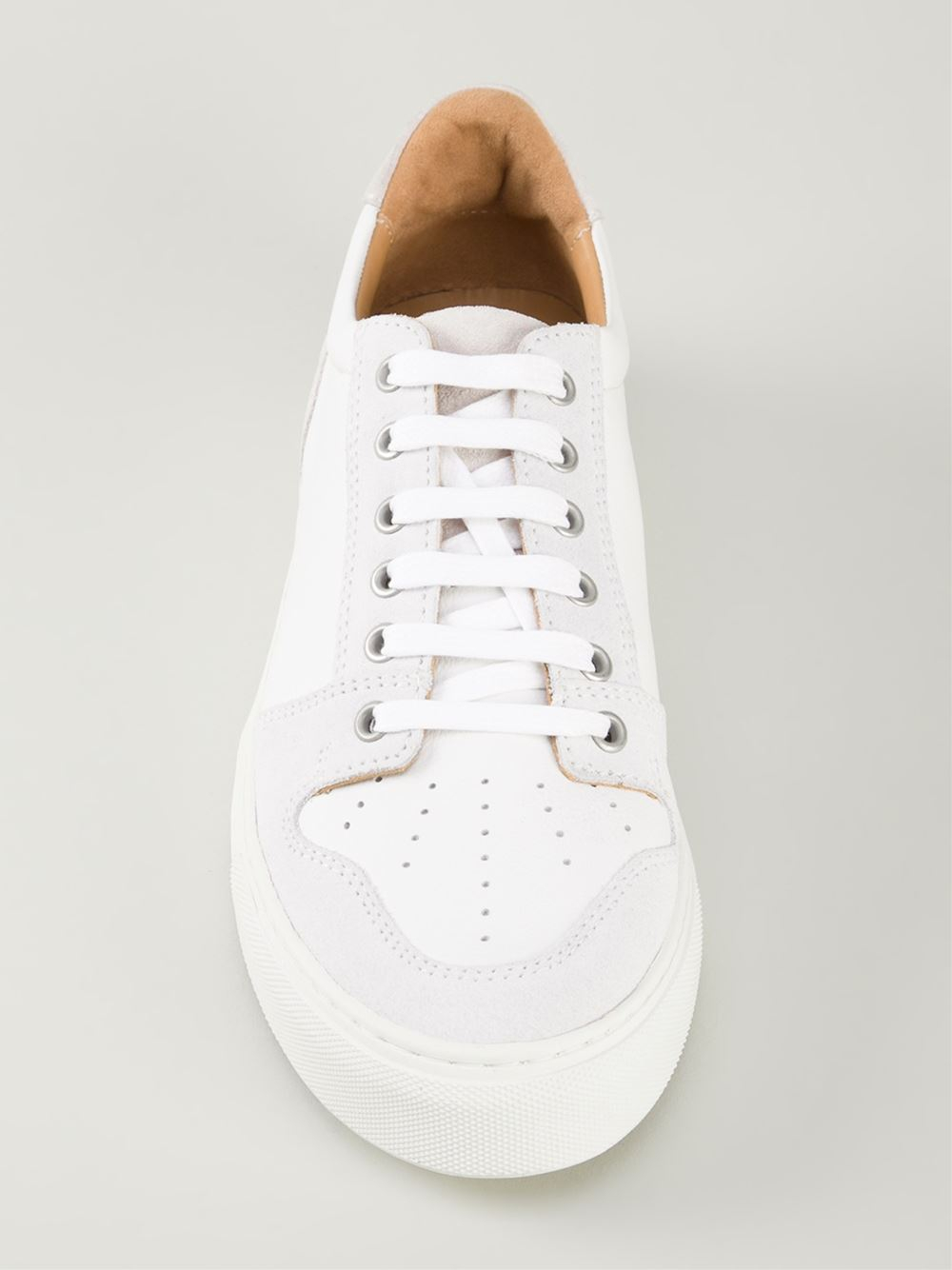 AMI Low Top Trainers in White for Men