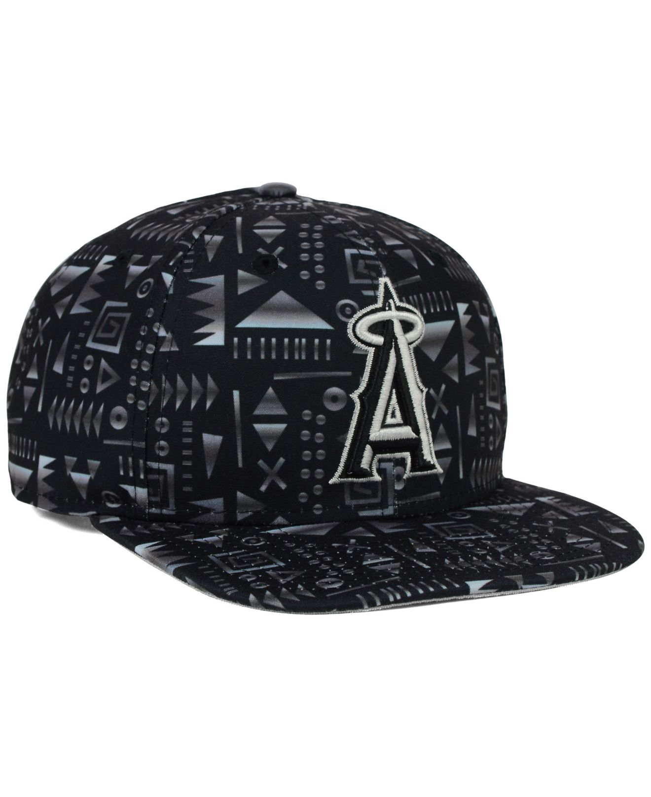 reputable site d83aa c9ade ... new arrivals lyst ktz los angeles angels of anaheim geo 9fifty snapback  cap in 20965 ee77c