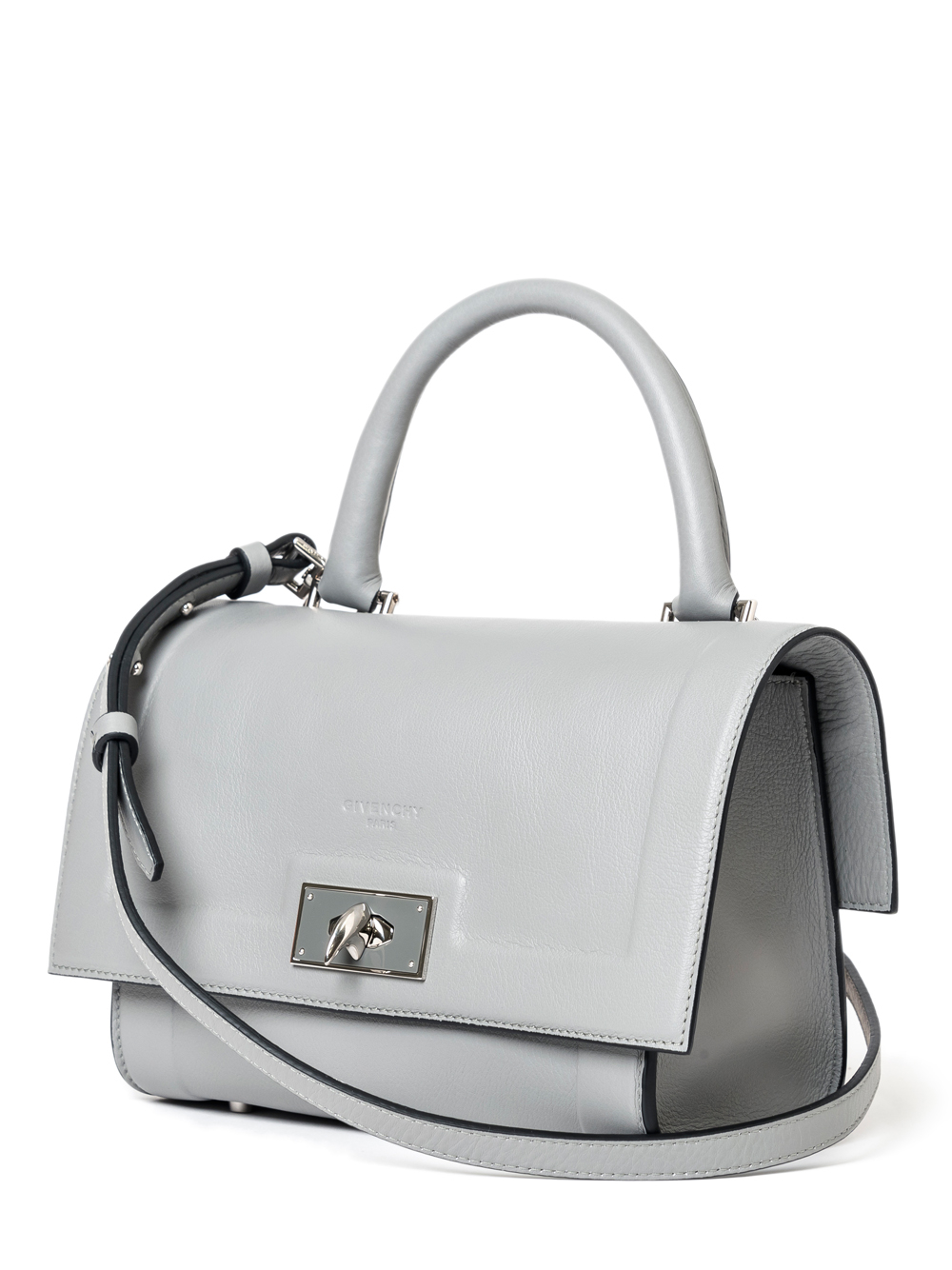 Lyst - Givenchy Mini Shark Bag in Gray c7c686fe077c6