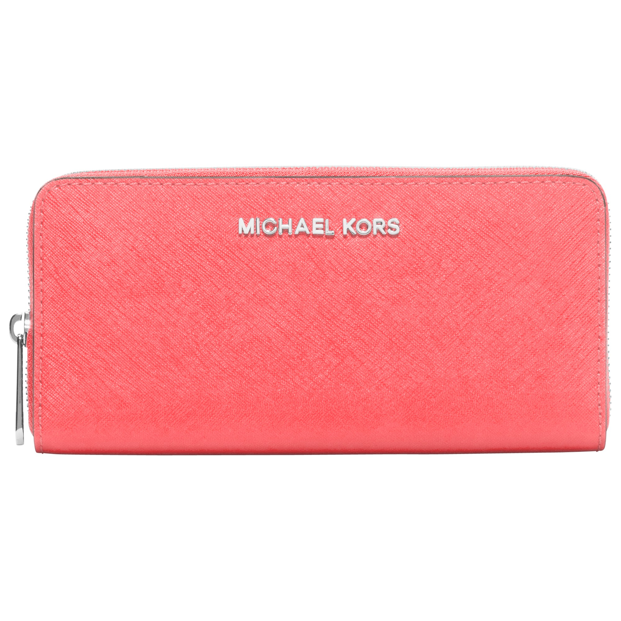 0603dfb999a6 MICHAEL Michael Kors Jet Set Travel Leather Continental Purse in ...