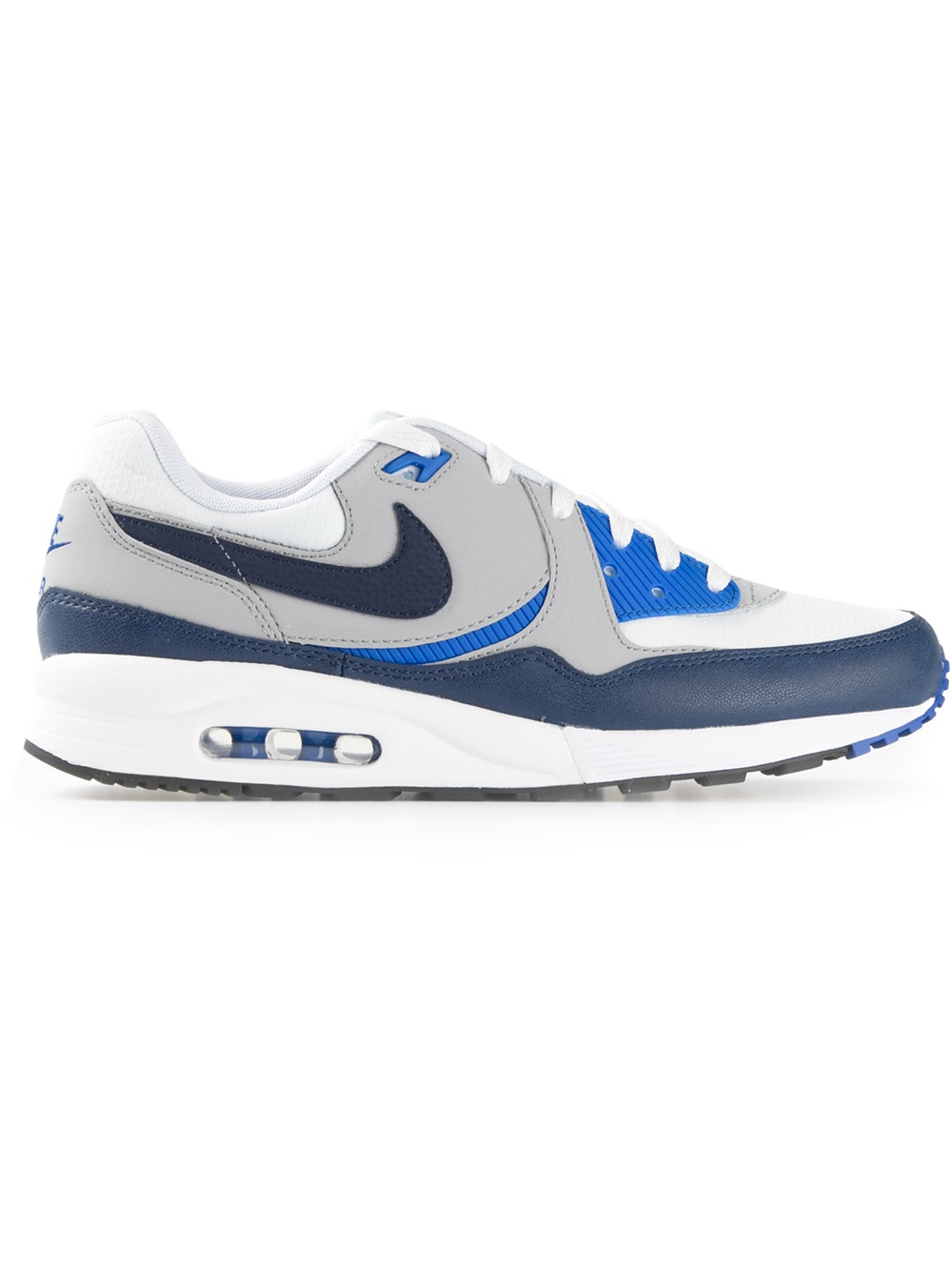 lyst nike air max light trainers in blue for men. Black Bedroom Furniture Sets. Home Design Ideas