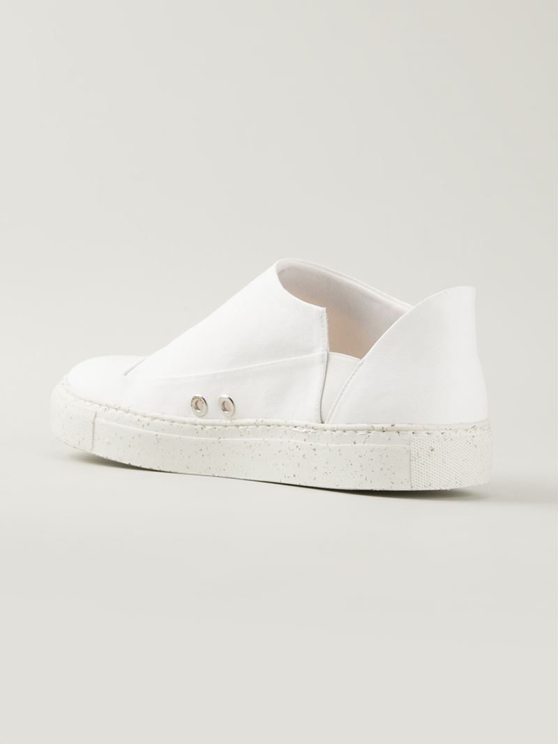 Tory Burch Slip-On Sneakers- perfect casual sneaker Find this Pin and more on Style {Fabulous Flats} by Alexa Webb. Sneakers happen to be a part of the fashion world for more than you may think.