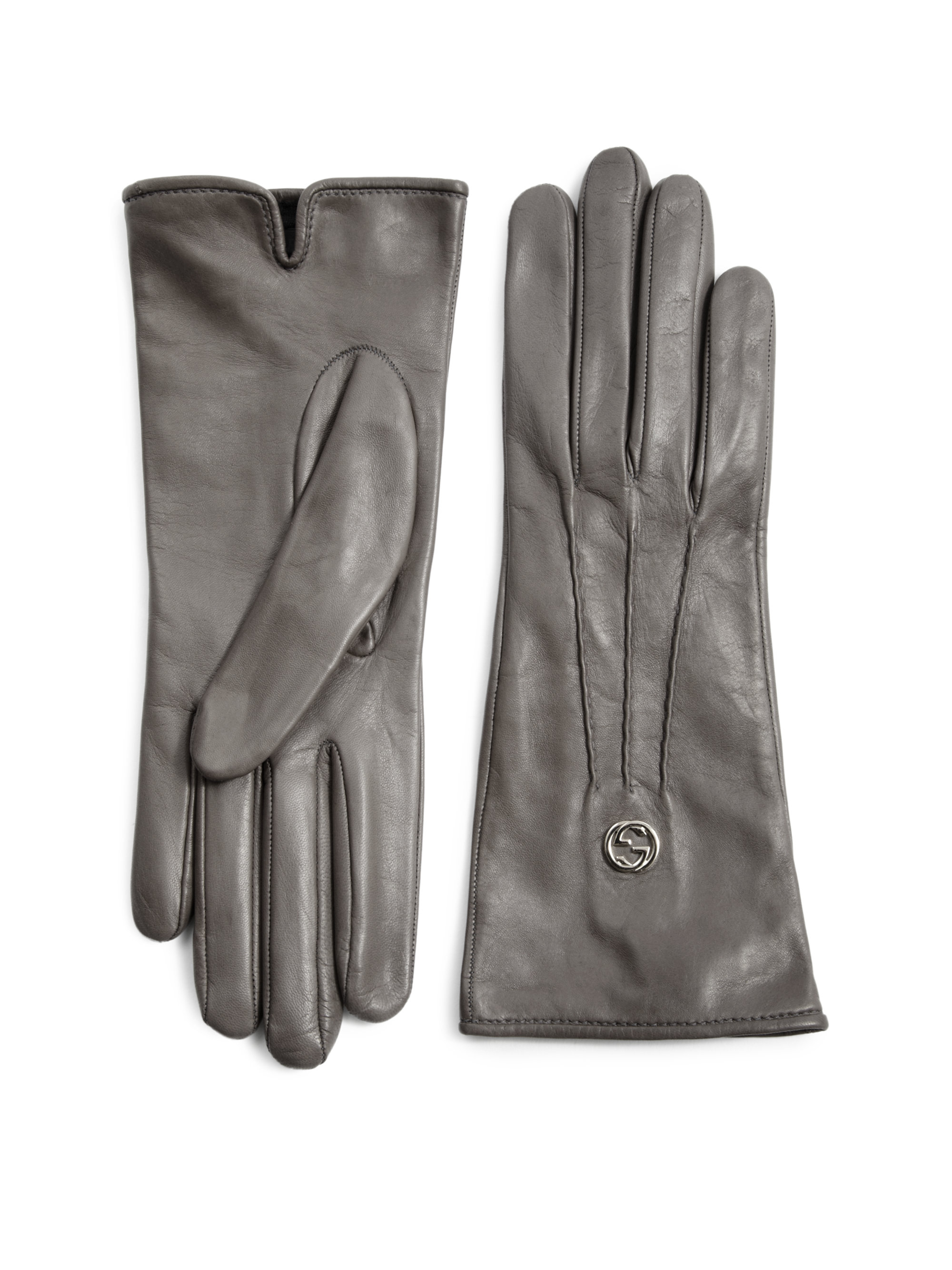 Gala Gloves Italian Leather Lined Glove Guanti Donna