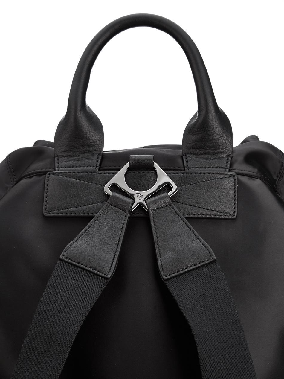Mcq Military Nylon Backpack In Black For Men Lyst