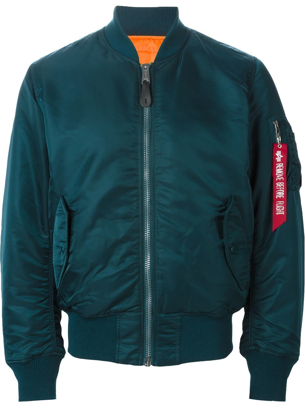 alpha industries classic bomber jacket in blue for men lyst. Black Bedroom Furniture Sets. Home Design Ideas