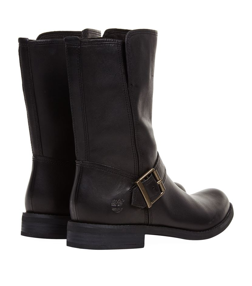 b67006803be Timberland Savin Hill Mid Zip Boot in Black - Lyst