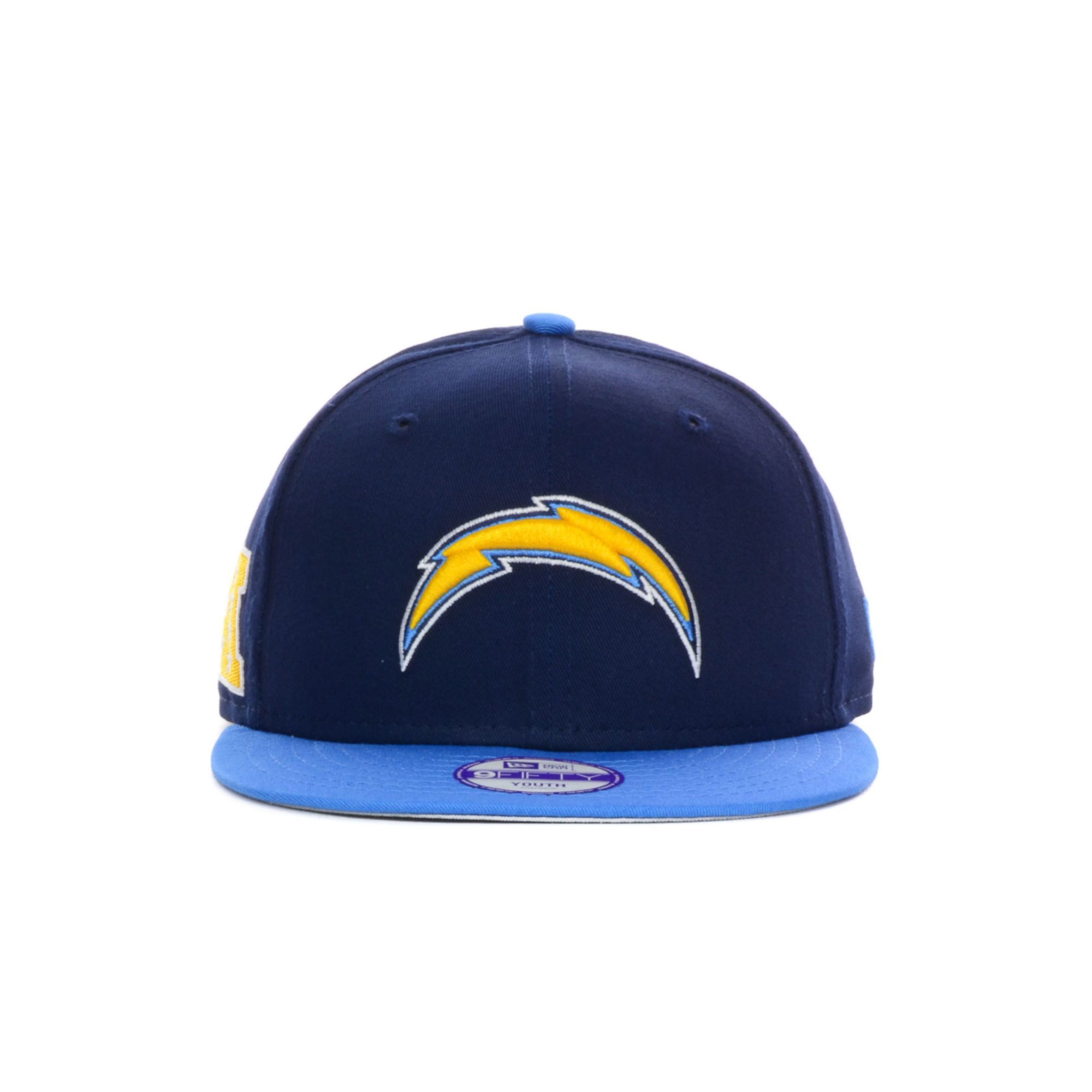 San Diego Chargers Blue: New Era Kids San Diego Chargers Baycik 9fifty Snapback Cap