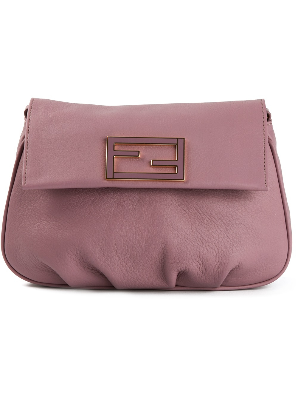 Fendi 'Sta Pouch' Cross Body Bag in Pink & Purple (Purple)