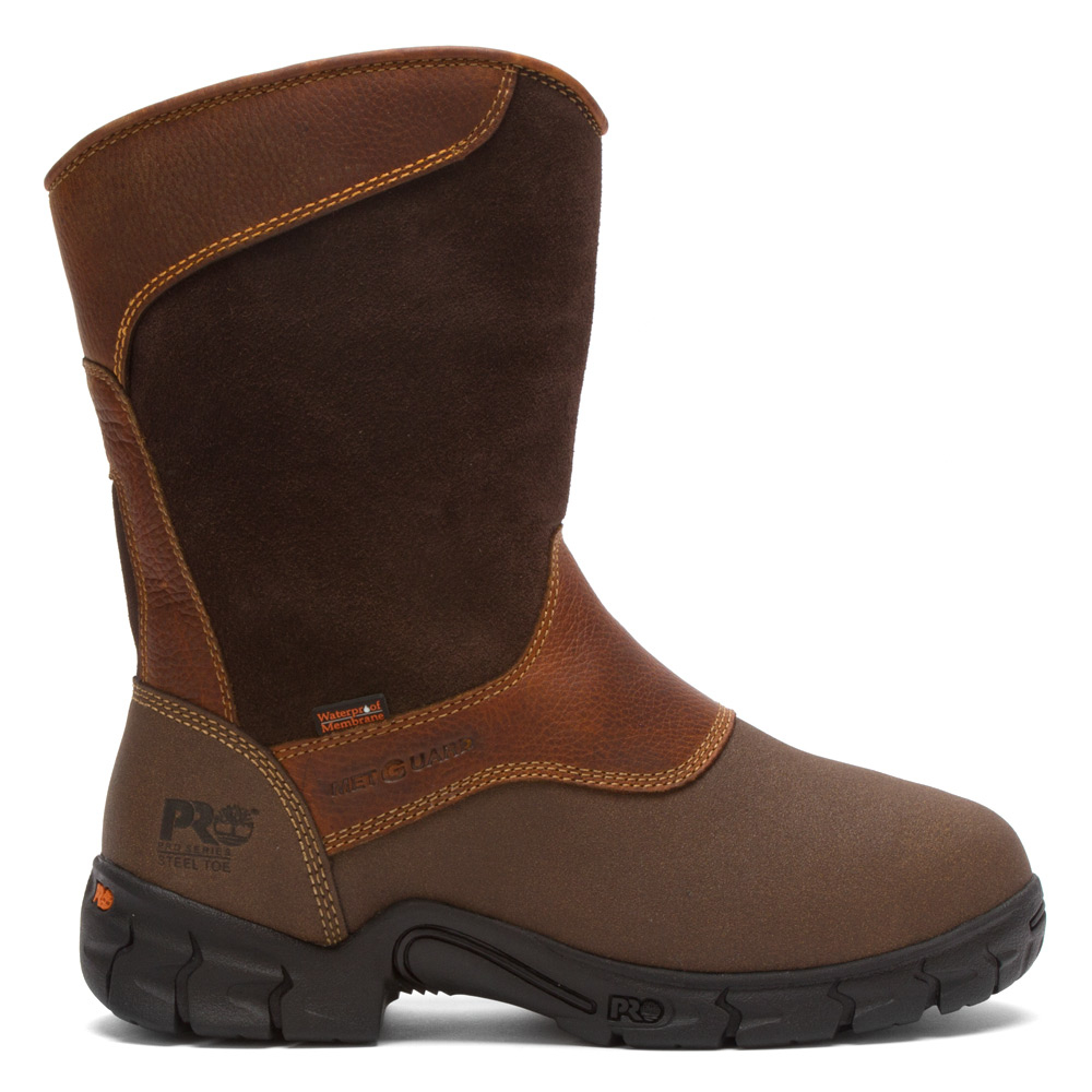 Timberland Pro Excave Wp St Internal Met Guard In Brown