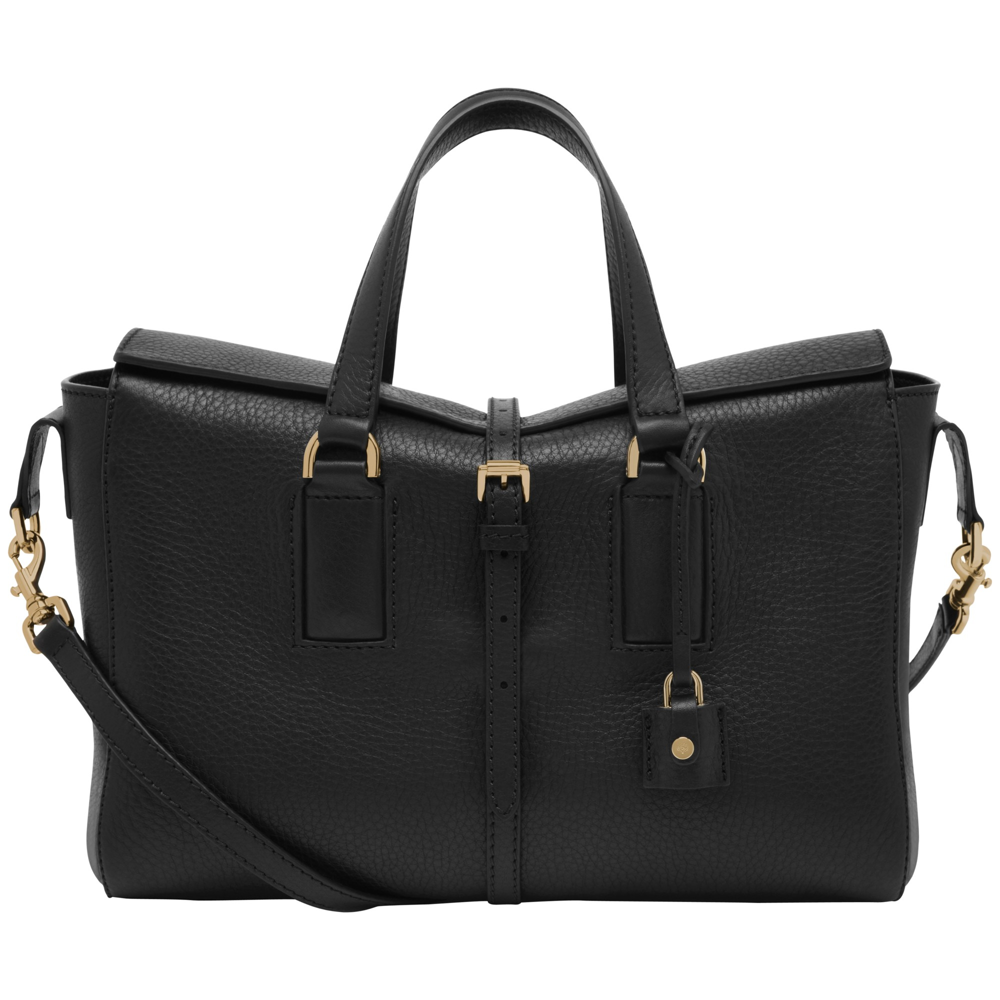f9132f2158a1fe Small Black Leather Grab Bag | Stanford Center for Opportunity ...
