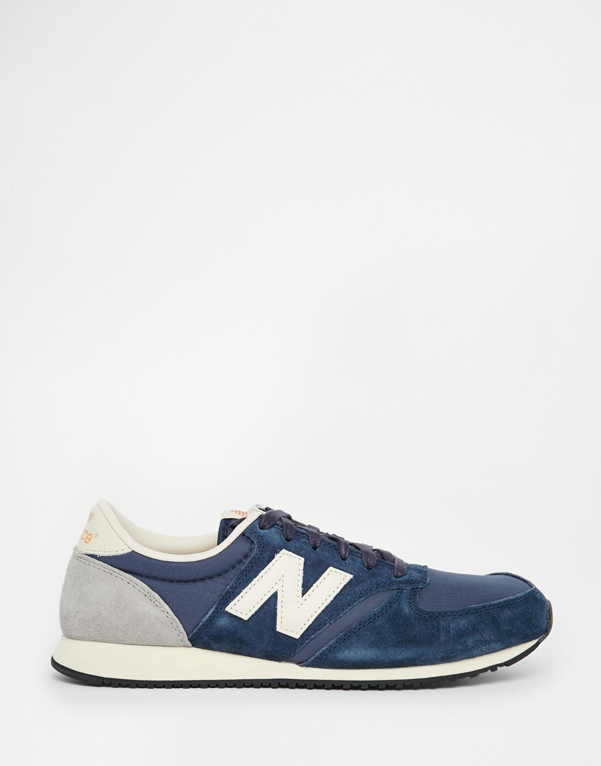 new balance 420 baby blue vintage sneakers