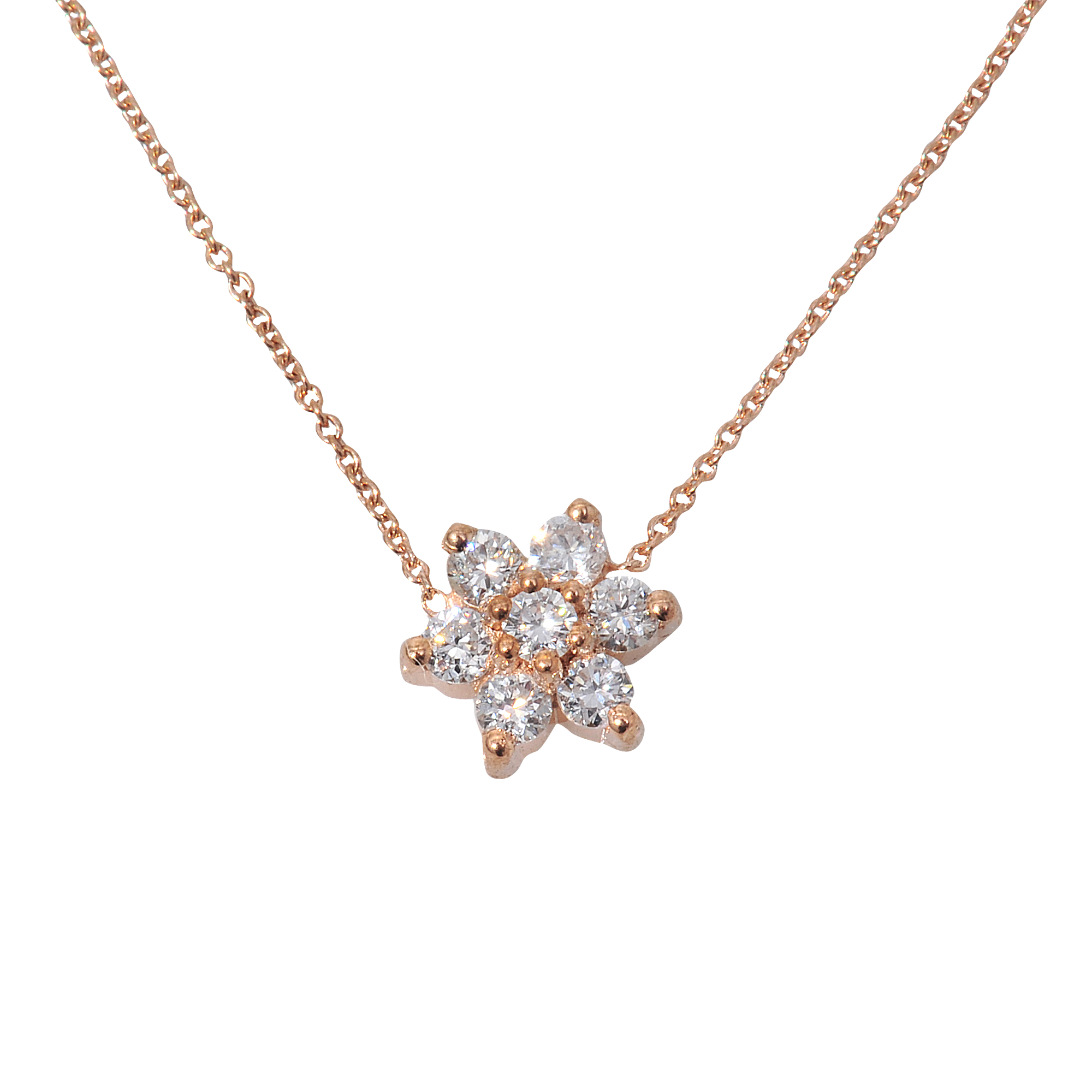 Ginette Ny Diamond Star Necklace In Gold Lyst