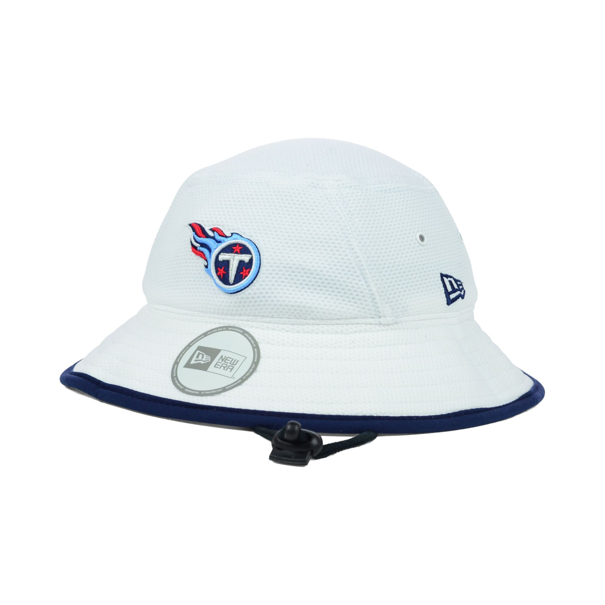 3455b3c81a7 Lyst - KTZ Tennessee Titans Training Camp Bucket Hat in White for Men