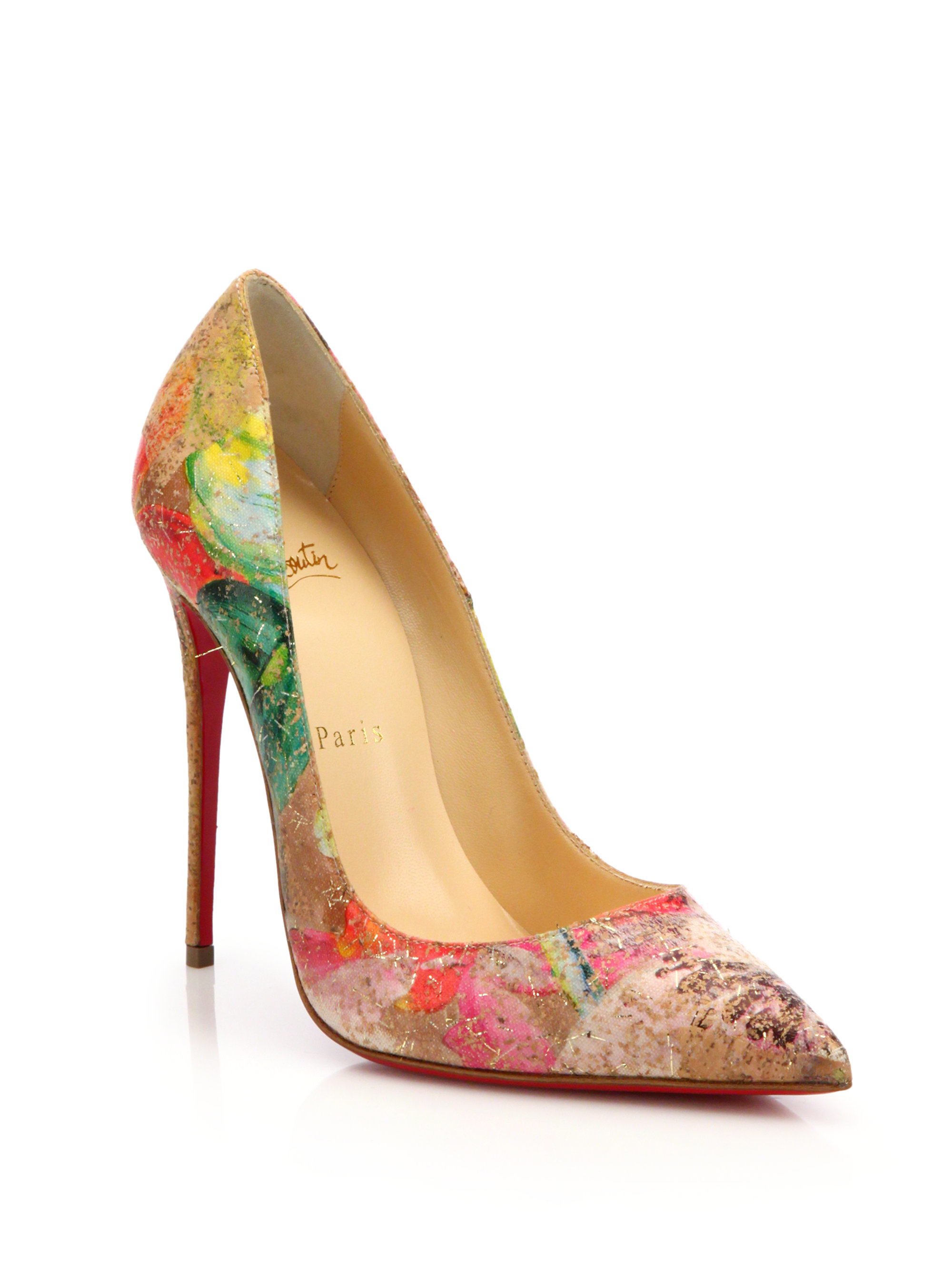 96873b3ca064 Gallery. Previously sold at  Saks Fifth Avenue · Women s Christian  Louboutin So Kate ...