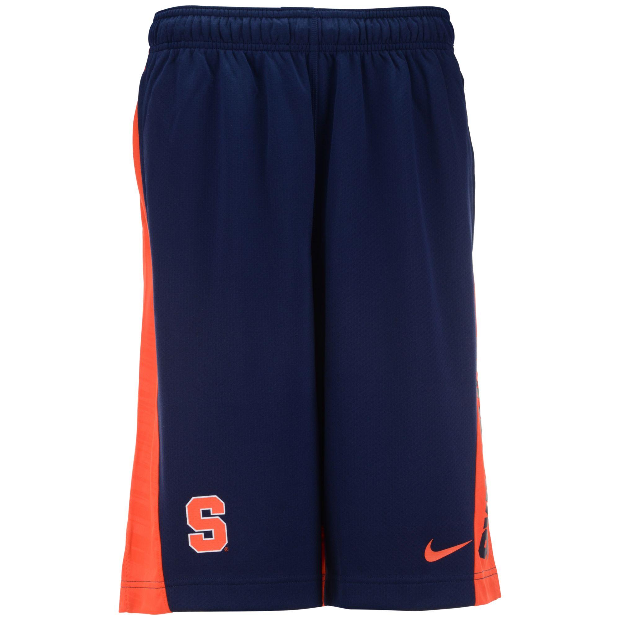 Nike Mens Syracuse Orange Fly Shorts in Blue for Men (Navy ...