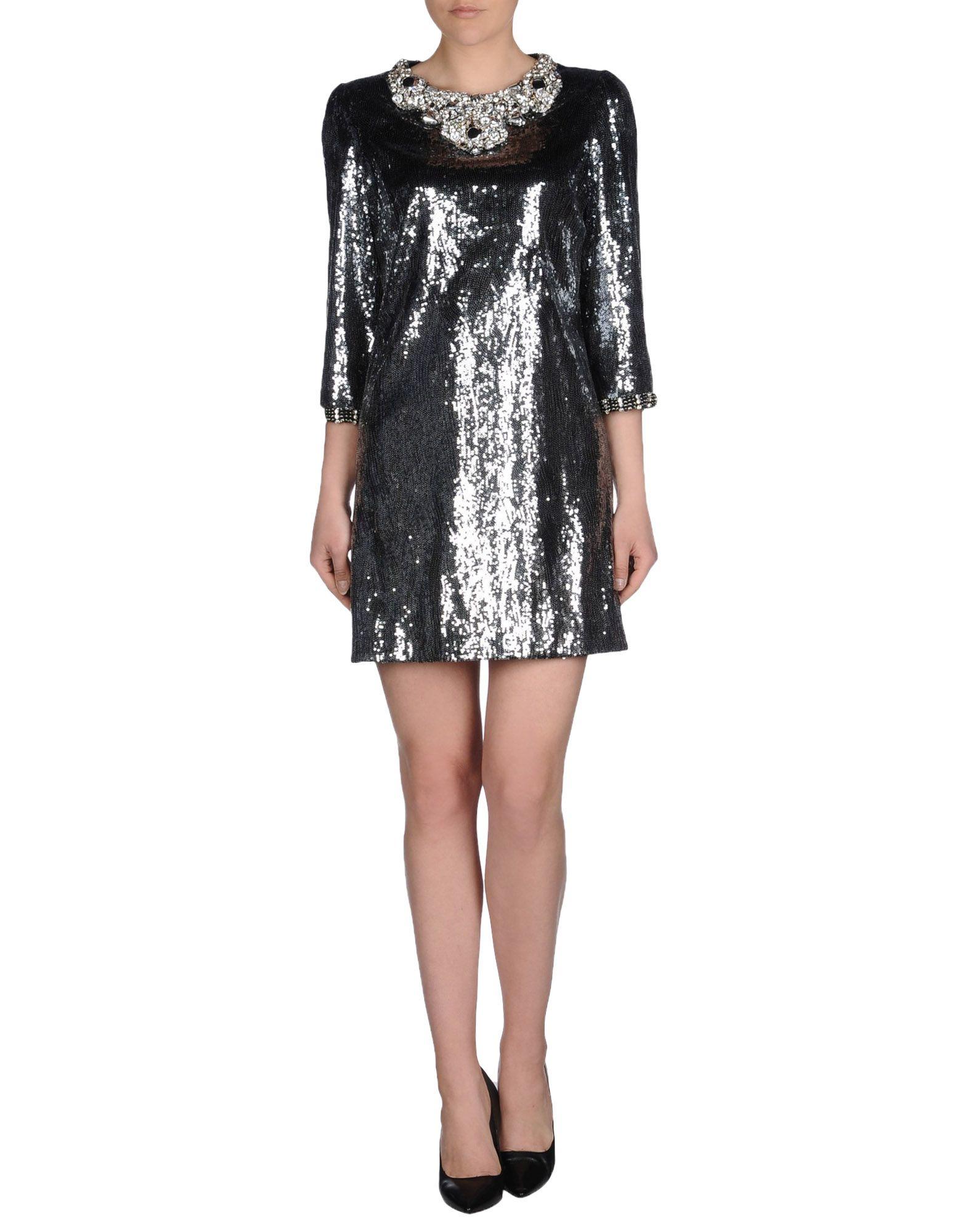 Dolce Amp Gabbana Short Dress Lyst
