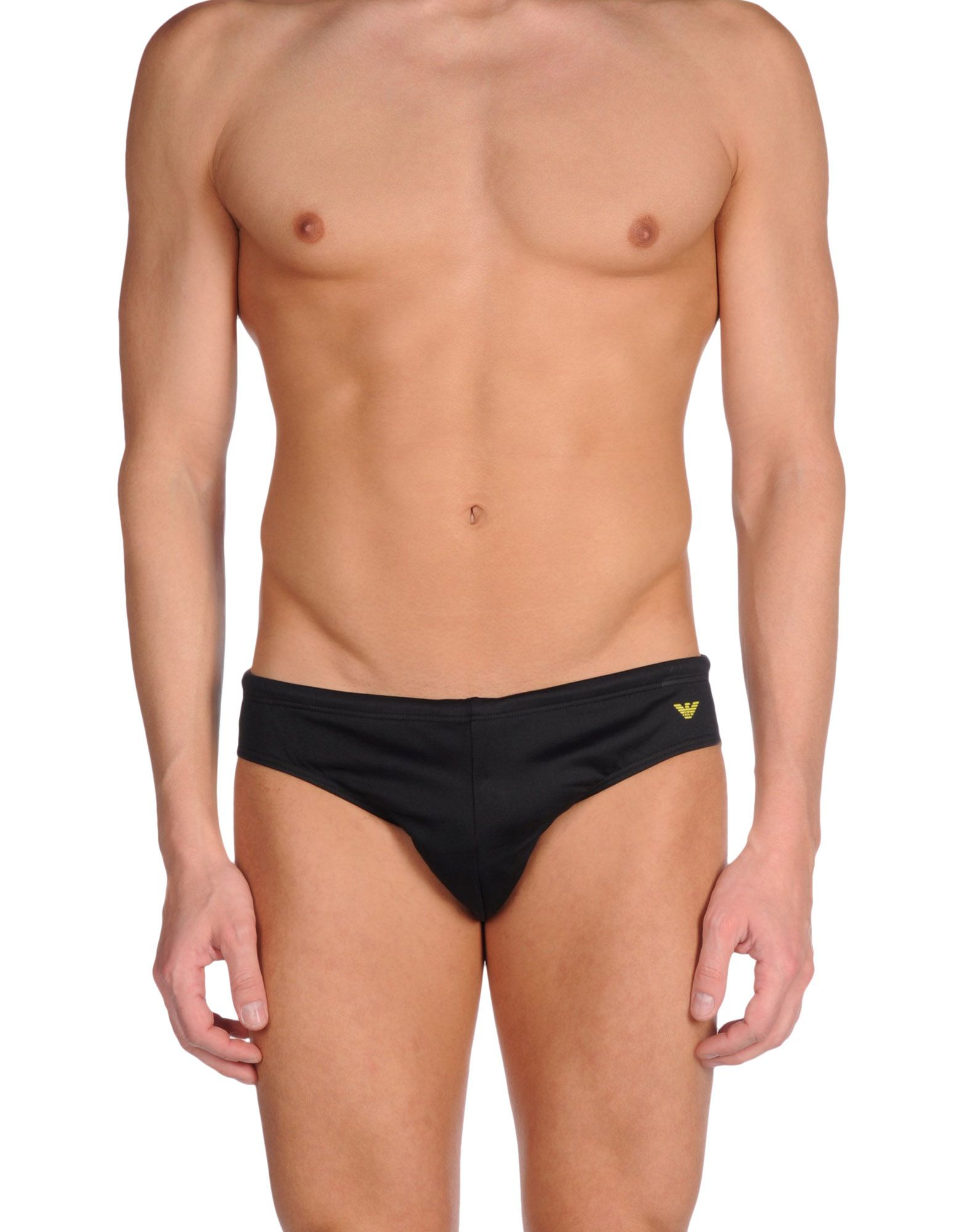 Emporio armani Bikini Bottoms in Black for Men