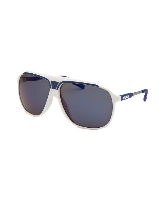 81e30f1e7d07 Lyst - Nike Men's Vintage Mdl 240 Aviator White Sunglasses in White ...